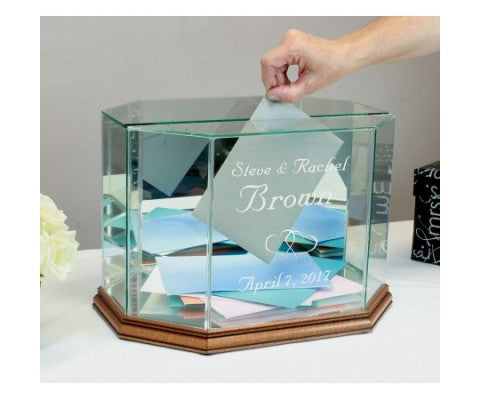 Personalized Money Box For Your Wedding Reception