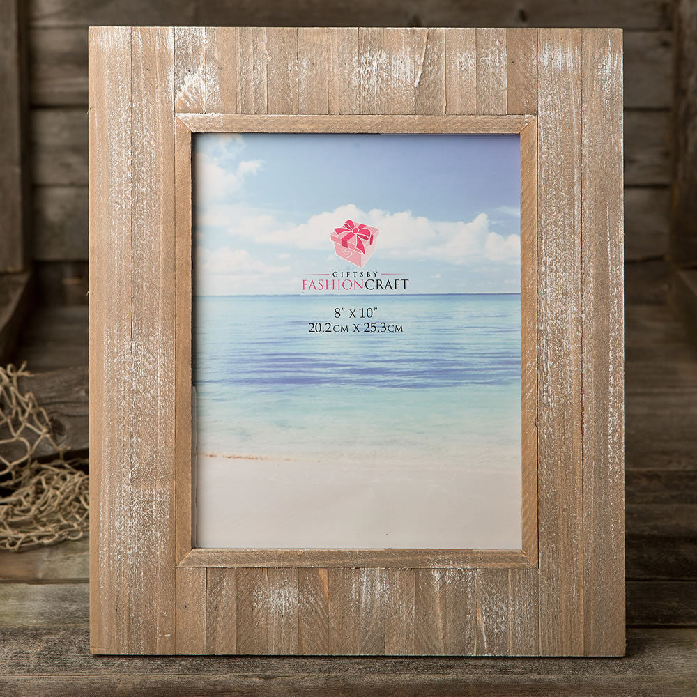 Distressed Wood Wide border 8 x 10 Frame