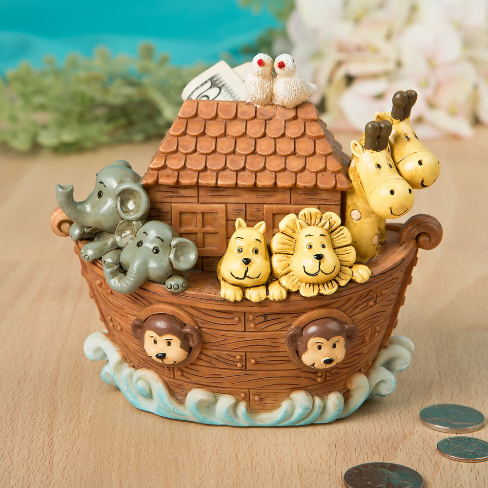 Adorable Noahs Ark Bank