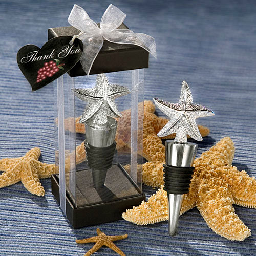 Starfish Design Wine Bottle Stoppers