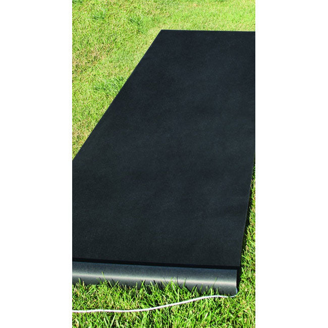 Black Aisle Runner Durable 100 Feet Long