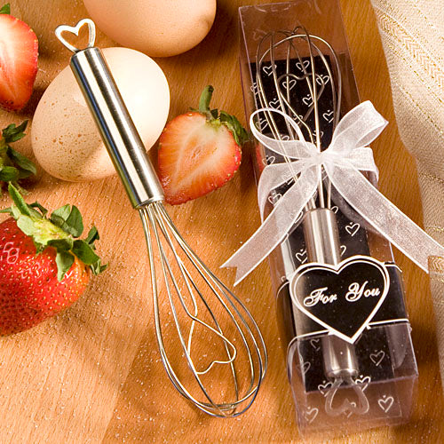 Heart Design Wire Whisk Favors
