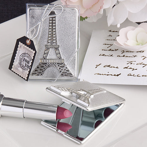 Eiffel Tower Design Compact Mirror Favors