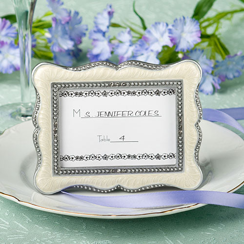 Victorian Design Place Card Frame Favors