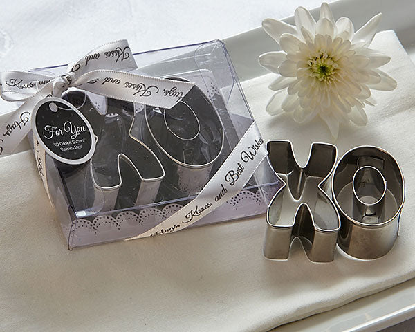 XO Best Wishes Cookie Cutter Sets Pack of 12