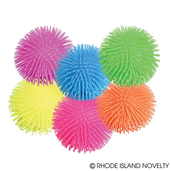 Puffer Balls Assorted Colors Set of 12