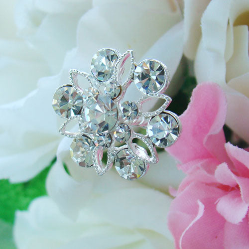 Crystal Bouquet Bridal Bouquet Jewelry (Set of 2)