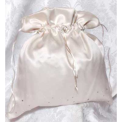 Wedding Money Bag Celebrity (White or Ivory)