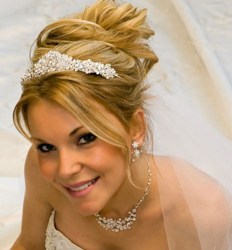 Pearl and Swarovski Crystal Bridal Tiara