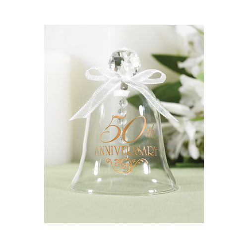 50th Wedding Anniversary Glass Bell Anniversary Gifts