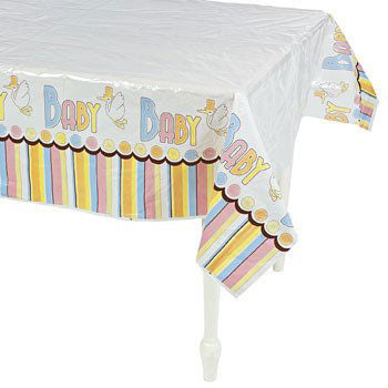 Baby Shower Party Table Cover