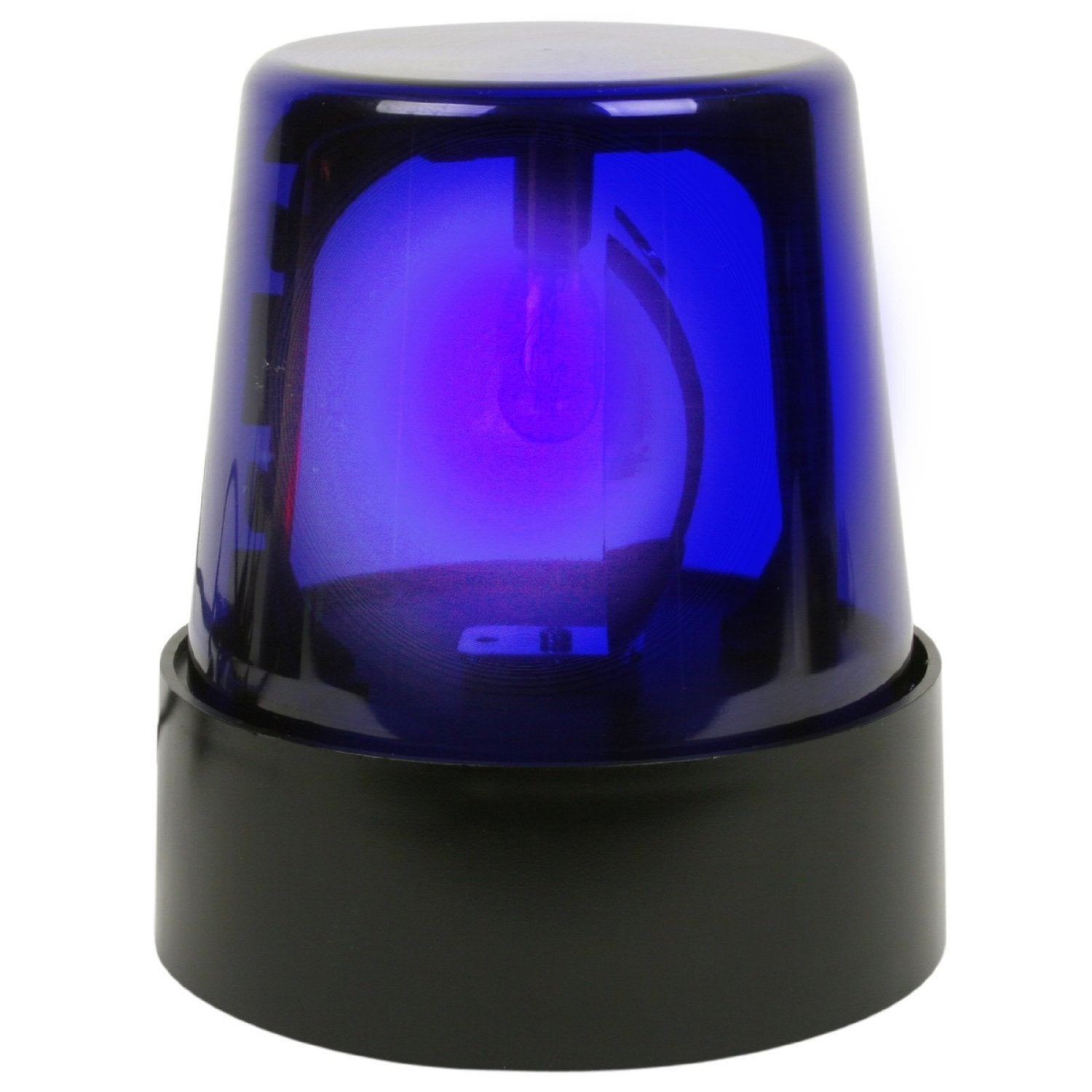 Blue Police Beacon Light 7 inch tall Party Light Decorations