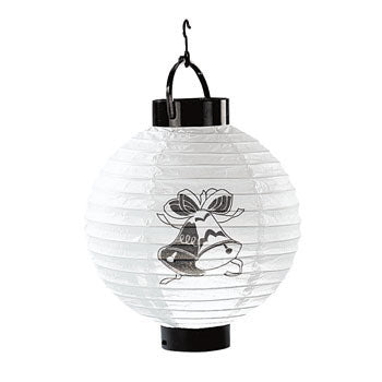 Wedding Bells Light-Up Lantern Set of 3
