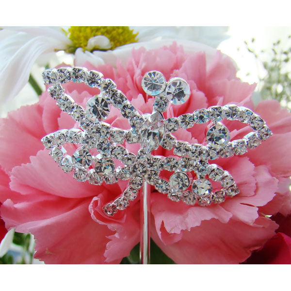 Bouquet Jewelry Crystal Dragonfly (Set of 2)