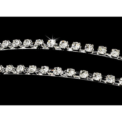 Double Band Bridal Headband
