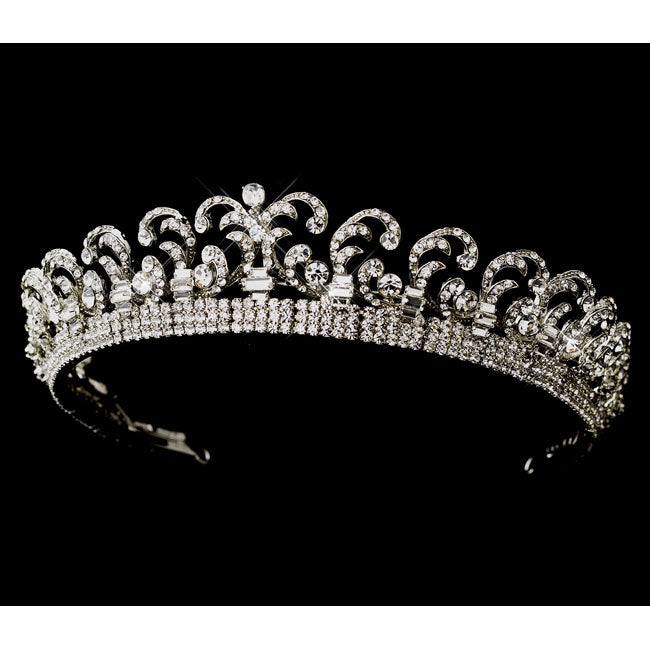 Bridal Tiara Royal Kate Middleton Inspired Halo Tiara