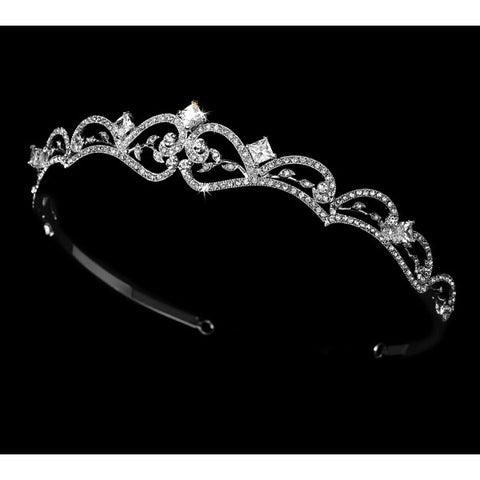 Antique Silver Bridal Tiara