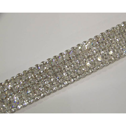 Crystal Cake Ribbons 4 Row Real Rhinestones Crystal Bling Cake Banding Lowest Price
