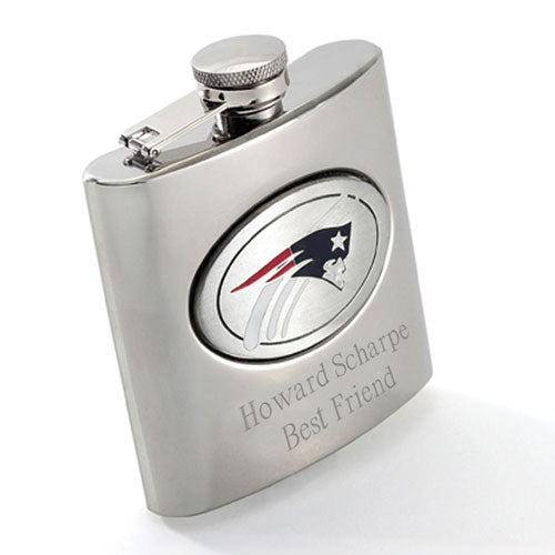 Engraved NFL Flask 8 oz