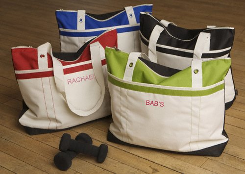 Personalized Fitness fun Tote Bag Gifts(4 colors)