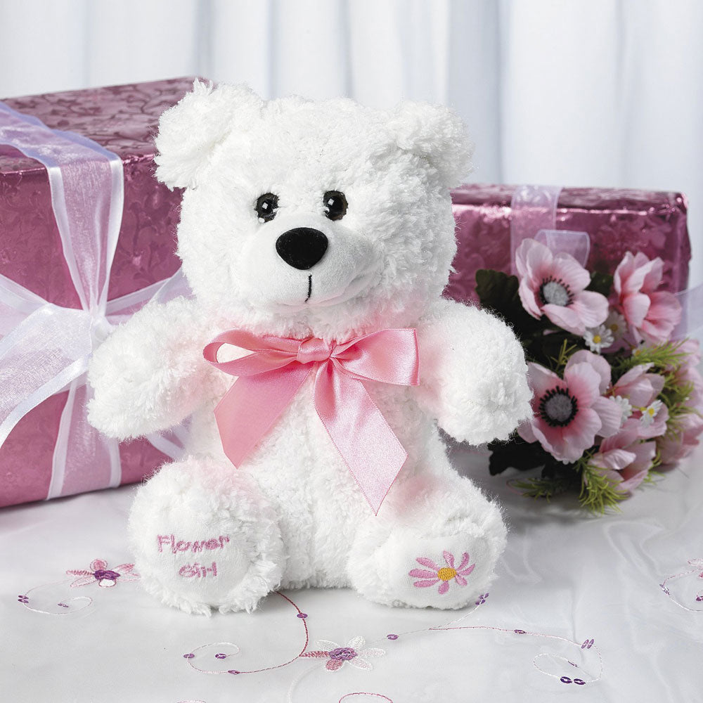 Plush Flower Girl Teddy Bear Flower Girl Gifts