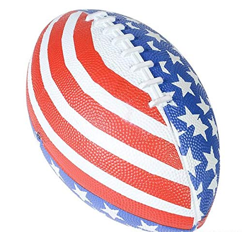 Patriotic Stars and Stripes American Flag Football July 4th Party