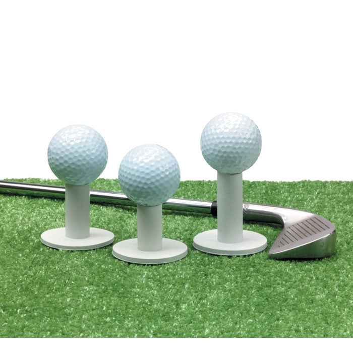 Assorted Size Rubber Practice Tees Set of 3 Golf Accessories Golfer