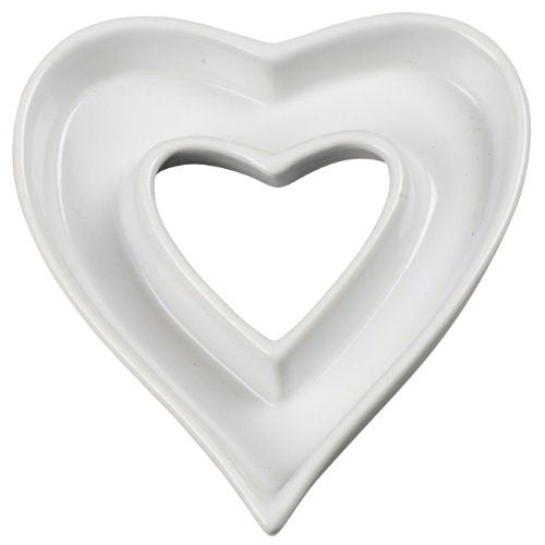 Heart Shaped Dish Plate Table Decorations