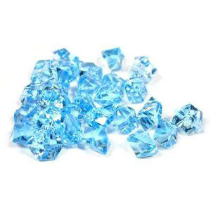 Acrylic Ice Rock Vase Gems or Table Scatters Decoration (9 Colors)