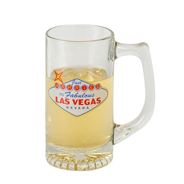 Las Vegas Glass Mug