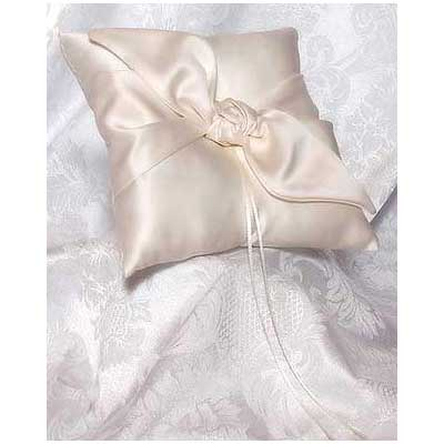 Love Knot Wedding Ring Bearer Pillow