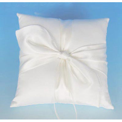 Tied the Knot Wedding Ring Bearer Pillow