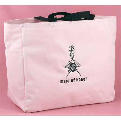 Maid of Honor Pink Tote Bag