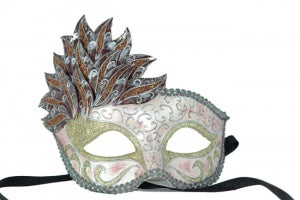 Maquerade Mask for Women Cascade Masquerade Mask (4 Colors)