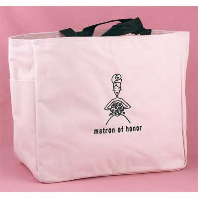 Matron of Honor Pink Tote Bag