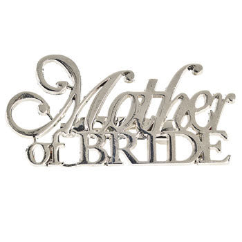 Mother Of Bride Pin - Wedding Party Pin