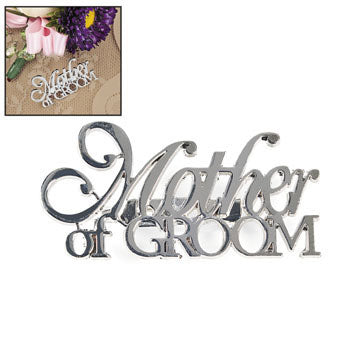 Mother Of Groom Pin - Wedding Party Pin