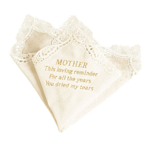 Mother Tears Handkerchief - Mother of the Bride Gift
