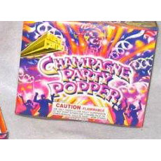 Party Poppers Celebration Champagne Party Poppers (Set of 12)