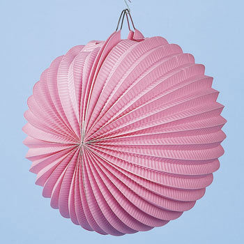 Pink Party Paper Lanterns (Pack of 12)
