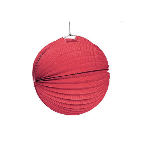 12 Red Lanterns Party Lantern Decorations