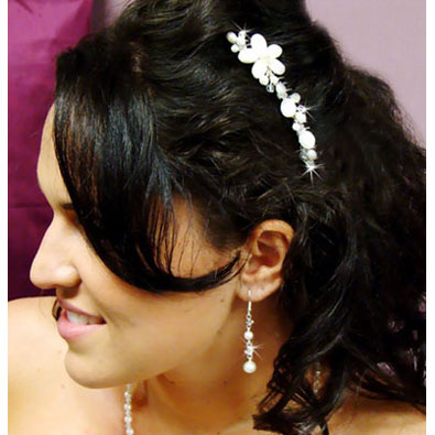 Pearl & Shell Beach Wedding Hair Comb