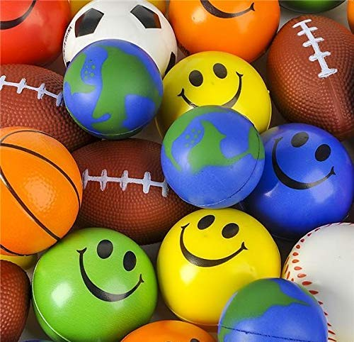 Stress Ball Toy Assortment Pack of 25
