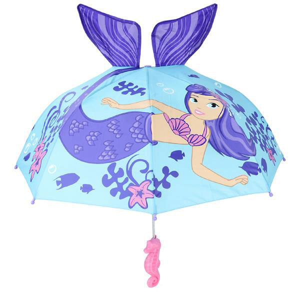 Mermaid Kids Umbrella Girl's Umbrella Size 30 inch Birthday Gifts