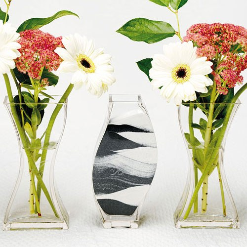 Wedding Sand Ceremony Engraved Nesting 3 Piece Vase Set