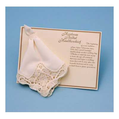 Venise Handkerchief (White or Ivory)