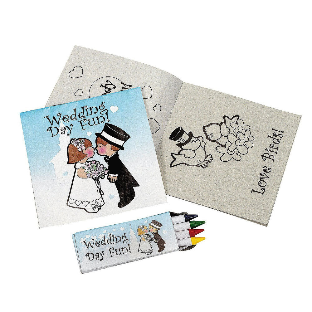 Wedding Day Kids Activity Kits Set