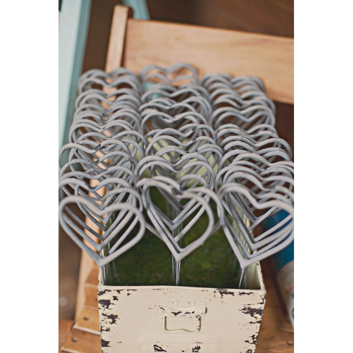 Heart Shaped Wedding Sparklers - 48 Wedding Sparklers Favors