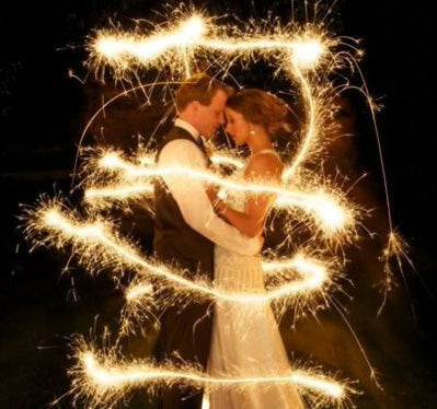 #20 Wedding Sparklers - 48 Wedding Sparklers Favors