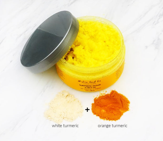 MCT Oil Skin Care Turmeric Exfoliant